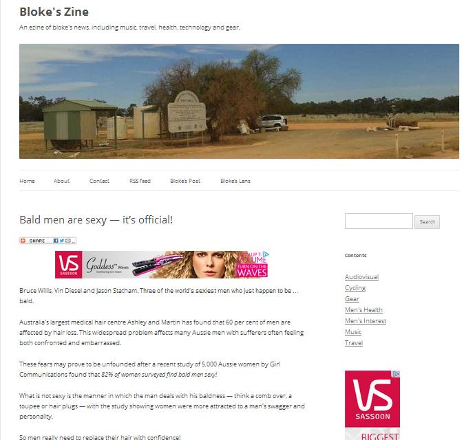 Bloke's Zine 22 March 2013