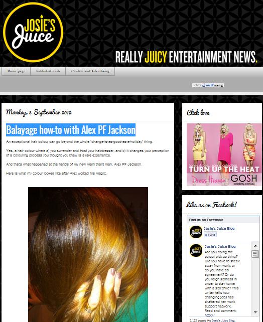 Josie's Juice 5/9/12
