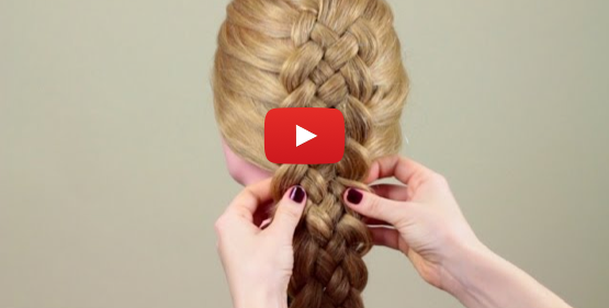Amazing hair braid video. Recommended by alexpfjackson hairandmakeup